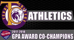 Texas College Athletics Named RRAC GPA Award Co-Champions Photo