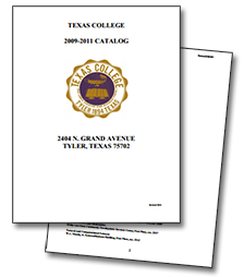 Texas College Catalog Image